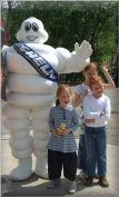 Steve Waddington - Sorry no it's the Michelin Man, entertains some of the FISC kids