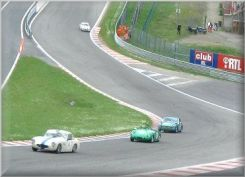 Mark Dols leads through Eau Rouge