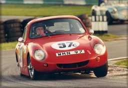 Tony Wilson-Spratt in his WSM at Oulton Park